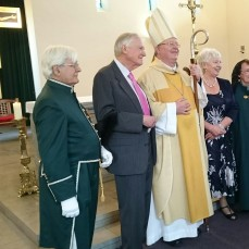 Bishop William visits